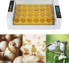 New listing 24 Eggs Incubator Temperature Control Digital Automatic Chicken Chick Duck Hatch