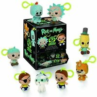 FUNKO KEYCHAIN SOFT TOY PLUSH RICK & MORTY - MYSTERY MINIS - ONE SUPPLIED