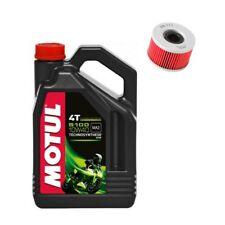 Motul 5100 oil & K&N filter service kit Honda VTR250 VTR 250 1998-2014