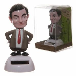 Licensed Mr Bean Solar Powered Nodding & Dancing Figure - No Batteries Required