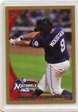 """2010 TOPPS PRO DEBUT #334 MICHAEL MOUSTAKAS """"GOLD"""" ROOKIE RC SP #43/50, ROYALS"""