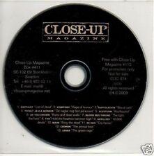 (774L) Close-Up Magazine CD album, #112