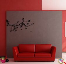 Wall Sticker Branch Tree Flower Modern Cool Decor for Bedroom z1365