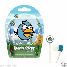 Gear 4 Angry Birds Tweeters In-ear Écouteurs stéréo-Blue Bird