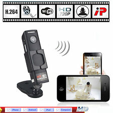 Mini HD 720P Wifi IP Camera Wireless Security Spy Hidden Cam Network CCTV DVR