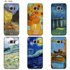 Custodia Cover Design Anukku Trasparente Air Gel Van Gogh Per Cellulari Samsung