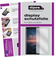 2x Nokia 8 Sirocco Protector de Pantalla protectores transparente dipos