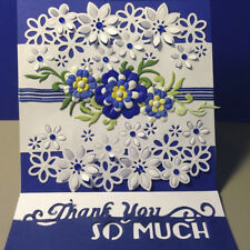 Flowers Metal Cutting Dies Stencil DIY Scrapbooking Handcrafts Album Card Craft