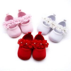 Baby Mädchen Baby Kleinkind-Schuhe weiche Sohle rutschfeste Lauflern 0-18month