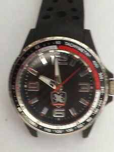 """a vintage gents stainless steel cased """"tractor people """" quartz watch GWO"""