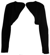 T-shirts et débardeurs noir col rond manches longues pour fille de 2 à 16 ans