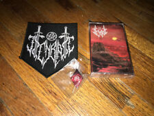 ISENBLAST - Screams In Cold Silence tape with patch and pin Darkthrone Metal