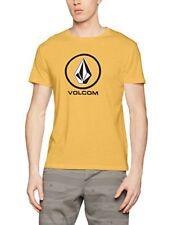 Camiseta Volcom Circlestone Dirt oro m