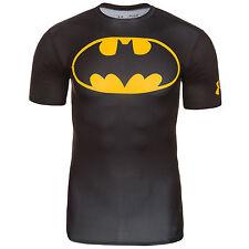 Under Armour Batman Alter Ego Komporessions Shirt 1244399-006 schwarz