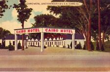 CAIRO MOTEL, INC. with adjoining restaurant. CAIRO, IL ROUTE 3 and U.S. 51