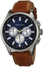 Men's Nautica Brown NCT 17 Chronograph Watch N16695G