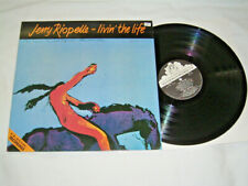 LP - Jerry Riopelle Livin the Life - UK 1986 MINT # cleaned