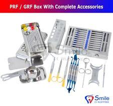 Complete PRF/GRF Box Dental Implant Membrane Surgery Bone Graft Instruments Kit