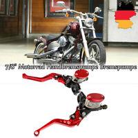 """7/8"""" Motorrad Handbremspumpe Bremspumpe Bremshebel für Harley SUZUKI Kawasaki"""