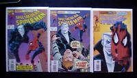 Spectacular Spider Man Death by Tombstone Part 1-3 High Grade Comic Book RM5-30