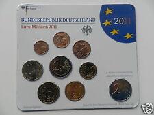 manueduc  ALEMANIA 2011  BLISTER Ceca  G  NUEVO 9 Monedas con 2 € Conmemorativos
