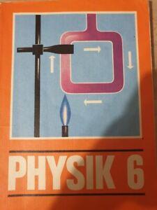Schulbuch aus der DDR , Physik Klasse 6 ,  Verlag Volk und Wissen