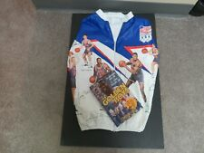 BASKETBALL 1992 USA OLYMPIC TEAM KELLOGS JACKET & THE GOLDEN BOYS BOOK BY CAMERO