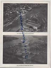 Kiel, pubblicità, 1922 opere tedesco AG Germania CANTIERE NAVALE NAVE CANTIERE NAVALE NAVE-costruzione