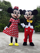 Mickey Mouse Mascot Costume Suit Cartoon Character Adult Fancy Dress Hot Sale