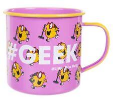 Little Miss BUSY ENAMEL MUG #Geek Camping Cup 500ml