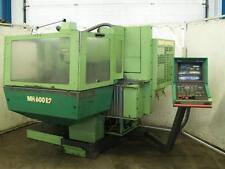 CNC Fräsmaschine MAHO MH 600 E2 + Phillips 432 + 20-fach Wechsler, ISO40, X600mm