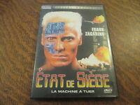 dvd etat de siege avec frank zagarino