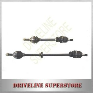 A pair of FRONT CV JOINT DRIVE SHAFTS for HYUNDAI TUCSON AUTO 2.0L 4CYL 2005-