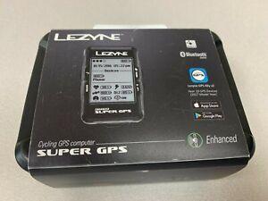 Lezyne Super GPS Loaded Bike Cycling Computer Heart Rate Bundle BRAND NEW IN BOX