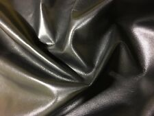 Italian Lambskin Leather Skin Hide Soft Black widow - 7 Sq.Ft (2 oz)