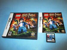 Lego Harry Potter Years 5-7 Nintendo DS Lite DSi XL 3DS 2DS Game w/Case & Manual