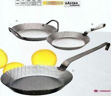 Eisenpfanne (1) Gastro geschmiedet 32cm Induktion Stielpfanne Bratpfanne 860574