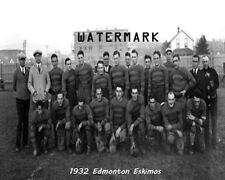 ARFU CFL 1932 Edmonton Eskimos Team Photo Black & White 8 X 10 Photo Picture