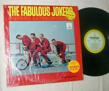 THE FABULOUS JOKERS - GUITARS EXTRAORDINARY - RARE ORIG 1966 LP - MONUMENT MONO