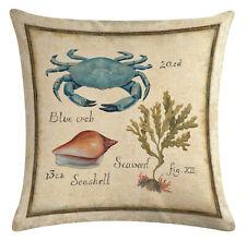 Kissenhülle Motivkissen Tiere Historische Bildtafel Meerestiere 3