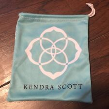 Kendra Scott Dust Bags teal blue new!!!!  free shipping