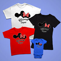 Disney Birthday Boy / Girl/Birthday Squad / Matching Shirts for Birthday parties