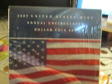 2007 US MINT ANNUAL UNC DOLLAR COIN SET SEALED FROM MINT  XX5