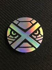 Pokemon Silver MEGA METAGROSS Collector COIN - NEW
