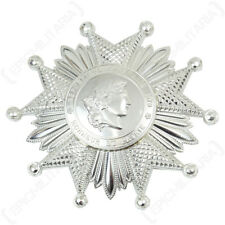 French LEGION OF HONOR Medal Silver Award Grand Officer Breast Insignia Badge