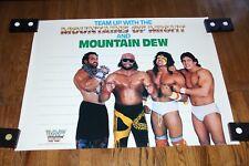 Rare Randy Savage Ultimate warrior wwe wwf wrestling poster photo