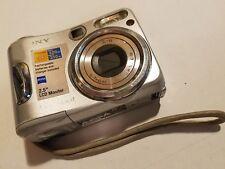 Sony Cybershot DSC-S90 4.1MP Digital Camera Memory Stick Pro 3X Optical #9131962