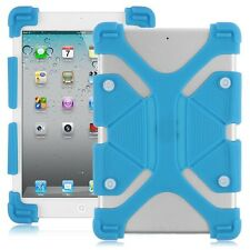 Universal Soft Silicone Shockproof Stand Cover Cases Skin For Samsung Galaxy Tab
