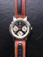 NOS NEW Rohtar sport piel quartz reloj watch vintage hombre