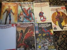 amazing Spiderman Comic Lot of 7 #1s cobra young blank lego hastings campbell